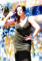 AJ ALEXANDER Photography  05-03-2015  Models Raydeance  @ Arizona Falls Phoenix, AZ Sunday May 3, 2015<br /> Photo by AJ ALEXANDER (c)<br /> Author/Owner AJ Alexander