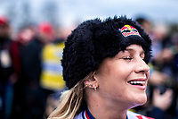Evie Richards (GBR), post race<br /> <br /> Women's Elite Race<br /> UCI 2020 Cyclocross World Championships<br /> Dübendorf / Switzerland<br /> <br /> ©kramon