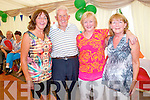 Pictured at the Marquee dancing at the Dan Paddy Andy festival on Sunday were L-R: Phil O'Sullivan, Tralee, Bertie Enright, Lyreacrompane, Bridget Lawlor, Blenerville, Margaret Cullity, Tralee.