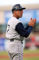 June 15 2008:  Manager Doug Dascenzo of the Fort Wayne Wizards, Class-A affiliate of the San Diego Padres, during a game at Fifth Third Field in Comstock Park, MI.  Photo by:  Mike Janes/Four Seam Images