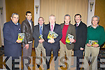 Minister Jimmy Deenihan made the journey to Cahersiveen on New Year's Eve Eve to promote his book 'My Sporting Life' pictured here at the Ring of Kerry Hotel on the night were l-r; Ned Fitzgerald, Maurice Fitzgerald, Hugh O'Flaherty, Jimmy Deenihan, Mick O'Connell, Tony Donnelly & Leo O'Shea.