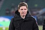 01.12.2019, Volkswagen Arena, Wolfsburg, GER, 1.FBL, VfL Wolfsburg vs SV Werder Bremen<br /> <br /> DFL REGULATIONS PROHIBIT ANY USE OF PHOTOGRAPHS AS IMAGE SEQUENCES AND/OR QUASI-VIDEO.<br /> <br /> im Bild / picture shows<br /> Oliver Glasner (Trainer / Cheftrainer VfL Wolfsburg), <br /> <br /> Foto © nordphoto / Ewert