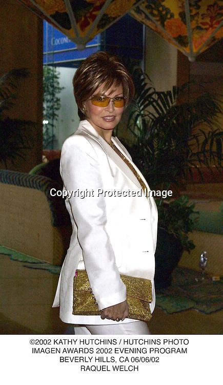 ©2002 KATHY HUTCHINS / HUTCHINS PHOTO.IMAGEN AWARDS 2002 EVENING PROGRAM.BEVERLY HILLS, CA 06/06/02.RAQUEL WELCH