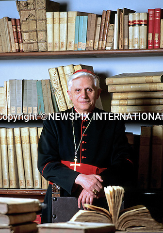 "POPE BENEDICT XVI ANNOUNCES RESIGNATION.Pope Benedict made a shock announcement of his imminent resignation at the end of February 2013..The 85-year-old (Cardinal Joseph Aloisius Ratzinger) who was elected as Head of the Catholic Church in April 2005 after the death of Pope John Paul ll, gave the reason for his resignation as being too old..The announcement - the first papal resignation in nearly 600 years(Pope Gregory XII was the last in 1415), surprised governments, Vatican-watchers and even his closest aides..The Vatican expects to have a new Pope elected by Palm Sunday - 24th March 2013.Picture Shows: Pope Benedict XVI at the Vatican.Mandatory Credit Photo: ©Sestini/NEWSPIX INTERNATIONAL..**ALL FEES PAYABLE TO: ""NEWSPIX INTERNATIONAL""**..IMMEDIATE CONFIRMATION OF USAGE REQUIRED:.Newspix International, 31 Chinnery Hill, Bishop's Stortford, ENGLAND CM23 3PS.Tel:+441279 324672  ; Fax: +441279656877.Mobile:  07775681153.e-mail: info@newspixinternational.co.uk"