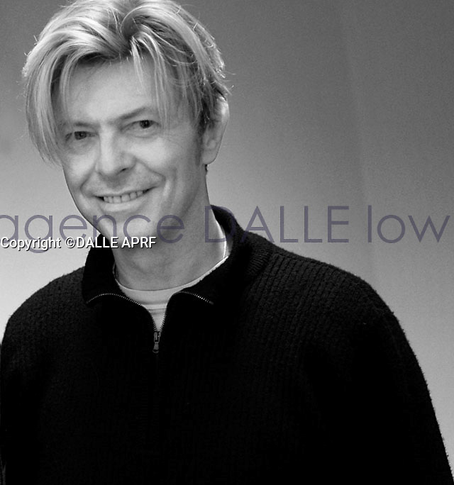 DAVID BOWIE <br /> 11/2003<br /> Lyon<br /> <br /> &copy; ROBIN/DALLE