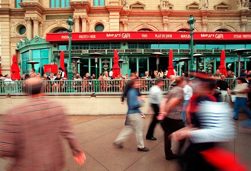 Street scene in Paris.