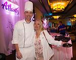 Chef Dave Holman and Daniella Sonhime during the Nevada Diabetes Associations 4th Annual Winter Wonderland on Thursday, Feb. 27, 2020 at Atlantis Resort Casino Spa in Reno.