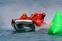 Super Light Tunnel action..10-12 July, 2009, 100th Gold Cup, Detroit River, Detroit, MI USA..©2009 F.Peirce Williams, USA.