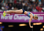 Olga Mullina (ANA) in the womens pole vault. IAAF world athletics championships. London Olympic stadium. Queen Elizabeth Olympic park. Stratford. London. UK. 06/08/2017. ~ MANDATORY CREDIT Garry Bowden/SIPPA - NO UNAUTHORISED USE - +44 7837 394578