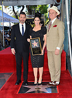 LOS ANGELES, CA. November 09, 2018: Jimmy Kimmel, Sarah Silverman & John C. Reilly at the Hollywood Walk of Fame Star Ceremony honoring comedian Sarah Silverman.<br /> Pictures: Paul Smith/Featureflash