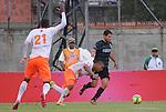 ENVIGADO – COLOMBIA _ 26-04-2014 / En compromiso de ida de los cuartos de final del Torneo Apertura Colombiano 2014, Envigado FC cayó 1 – 4 ante Atlético Nacional en el Polideportivo Sur de Envigado. /