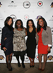 Row Lawson, Kelley Carter, Al Jazeera America Anchor and Honoree RICHELLE CAREY, Al Jazeera America Producer Brittany Cummings at DJ Jon Quick's 5th Annual Beauty and the Beat: Heroines of Excellence Awards Honoring AMBRE ANDERSON, DR. MEENA SINGH,<br /> JESENIA COLLAZO, SHANELLE GABRIEL, <br /> KRYSTAL GARNER, RICHELLE CAREY,<br /> DANA WHITFIELD, SHAWN OUTLER,<br /> TAMEKIA FLOWERS Held at Suite 36, NY