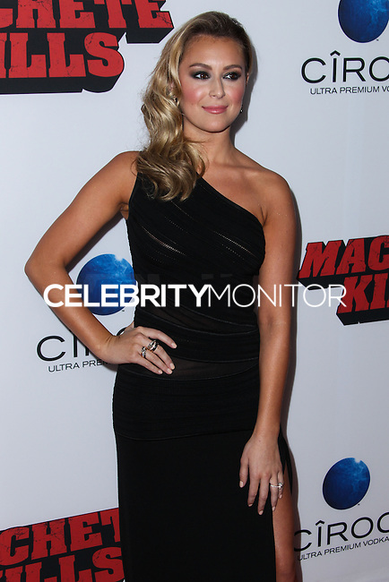 "LOS ANGELES, CA - OCTOBER 02: Actress Alexa Vega arrives at the Premiere Of Open Road Films' ""Machete Kills"" held at Regal Cinemas L.A. Live on October 2, 2013 in Los Angeles, California. (Photo by Xavier Collin/Celebrity Monitor)"