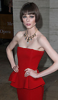 NEW YORK CITY, NY, USA - MAY 12: Coco Rocha at the American Ballet Theatre 2014 Opening Night Spring Gala held at The Metropolitan Opera House on May 12, 2014 in New York City, New York, United States. (Photo by Celebrity Monitor)