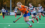 HUIZEN - Hockey - Kim van Leeuwen (Bldaal)  Hoofdklasse hockey competitie, Huizen-Bloemendaal (2-1) . COPYRIGHT KOEN SUYK