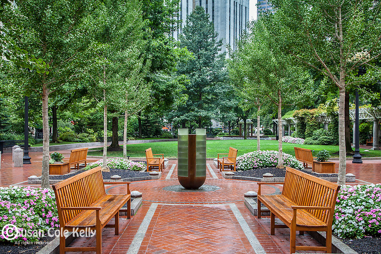 Norman B. Leventhal Park at Post Office Square, Boston, MA, USA