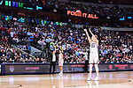 DALLAS, TX - MARCH 31: Katie Lou Samuelson #33 of the Connecticut Huskies shoots a free throw during the 2017 Women's Final Four at American Airlines Center on March 31, 2017 in Dallas, Texas. (Photo by Justin Tafoya/NCAA Photos via Getty Images)