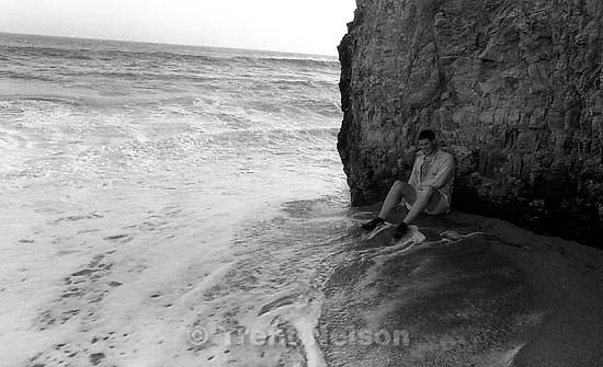Paul Doerr on Pier Beach.<br />