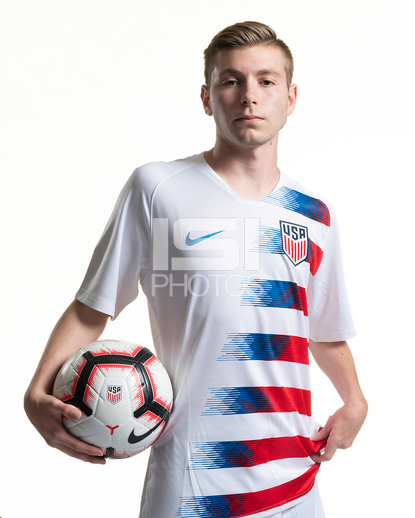 Rome, GA - Friday, June 21, 2019:  Para 7 USMNT headshot of Jacob Kaplan.