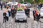 Funeral cortege of Louise McDonagh in Listowel opn Saturday.