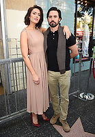 HOLLYWOOD, CA - MARCH 25: Milo Ventimiglia and Mandy Moore at the Mandy Moore star ceremony on the Hollywood Walk of Fame on March 25, 2019 in Hollywood, California. (Photo by Frank Micelotta/20th Century Fox Television/PictureGroup)