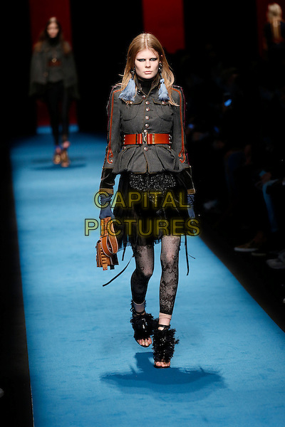 DSQUARED2<br /> Milan Fashion Week 2016 &ndash; AW16-17  Ready-To-Wear<br /> in Milan, Italy February 28, 2016.<br /> CAP/GOL<br /> &copy;GOL/Capital Pictures