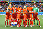 Netherlands team group line-up (NED), JULY 5, 2014 - Football / Soccer : FIFA World Cup Brazil 2014 quarter-finals match between Netherlands 0(4-3)0 Costa Rica at Arena Fonte Nova stadium in Salvador, Brazil. (Photo by Maurizio Borsari/AFLO) [0855]