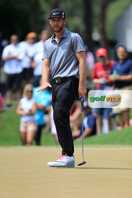 Kevin Campbell (USA) during the final round of the Players, TPC Sawgrass, Championship Way, Ponte Vedra Beach, FL 32082, USA. 15/05/2016.<br /> Picture: Golffile | Fran Caffrey<br /> <br /> <br /> All photo usage must carry mandatory copyright credit (&copy; Golffile | Fran Caffrey)