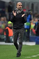 Josep Guardiola coach of of Manchester City <br /> Milano 06-11-2019 Stadio San Siro <br /> Football Champions League 2019/2020 Group C <br /> Atalanta - Manchester City <br /> Photo Andrea Staccioli / Insidefoto