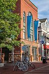 The Burlington Center for the Arts at the Church St Marketplace in Burlington, VT, USA