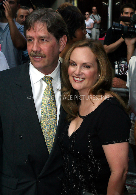 "Opening night for Broadway's newest and hottest show, ""Hairspray"" at Neil Simon Theatre. New York, August 15, 2002. Pictured are Patricia Hearst and her husband. Please byline: Alecsey Boldeskul/NY Photo Press.   ..*PAY-PER-USE*      ....NY Photo Press:  ..phone (646) 267-6913;   ..e-mail: info@nyphotopress.com"