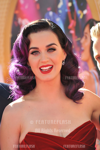 "Katy Perry at the Los Angeles premiere of her new movie ""Katy Perry: Part of Me"" at Grauman's Chinese Theatre, Hollywood..June 27, 2012  Los Angeles, CA.Picture: Paul Smith / Featureflash"