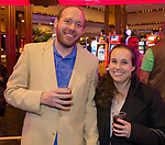 Zachary Draper and Melissa Busalacchi during the Sheep Dip 54 Show at the Eldorado Hotel & Casino on Friday night, Jan. 12, 2018.