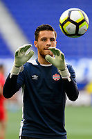 Harrison, NJ - Friday July 07, 2017: Jayson Leutwiler during a 2017 CONCACAF Gold Cup Group A match between the men's national teams of French Guiana (GUF) and Canada (CAN) at Red Bull Arena.