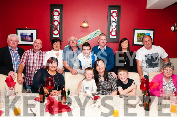 30th Birthday: Nicola Heffernan, Woodford, Listowel celebrating her 30th birthday with family & friends at Eabha Joan's Restaurant, Listowel on Saturday night last.