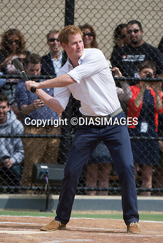 """PRINCE HARRY .visits Harlem RBI a baseball program for inner cities..The Prince was shown round by Yankees first baseman Mark Teixeira and had a game with the kids_14/05/2013.Prince Harry is on a week long USA visit the includes Washington, Denver, Colorado Springs, New Jersey, New York and Conneticut..Mandatory credit photo: ©DIASIMAGES..NO UK USE UNTIL 13/6/2013.(Failure to credit will incur a surcharge of 100% of reproduction fees)..**ALL FEES PAYABLE TO: """"NEWSPIX  INTERNATIONAL""""**..Newspix International, 31 Chinnery Hill, Bishop's Stortford, ENGLAND CM23 3PS.Tel:+441279 324672.Fax: +441279656877.Mobile:  07775681153.e-mail: info@newspixinternational.co.uk"""