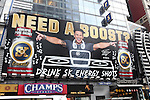 Billboard: DJ Pauly D has joined forces with the multiplatinum rap star 50 cent to promote his SK Energy drink as a brand advocate and investor.  Times Square on August 26, 2012 in New York City.