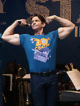 Andy Karl performing at United presents 'Stars in the Alley' in  Shubert Alley on May 27, 2015 in New York City.