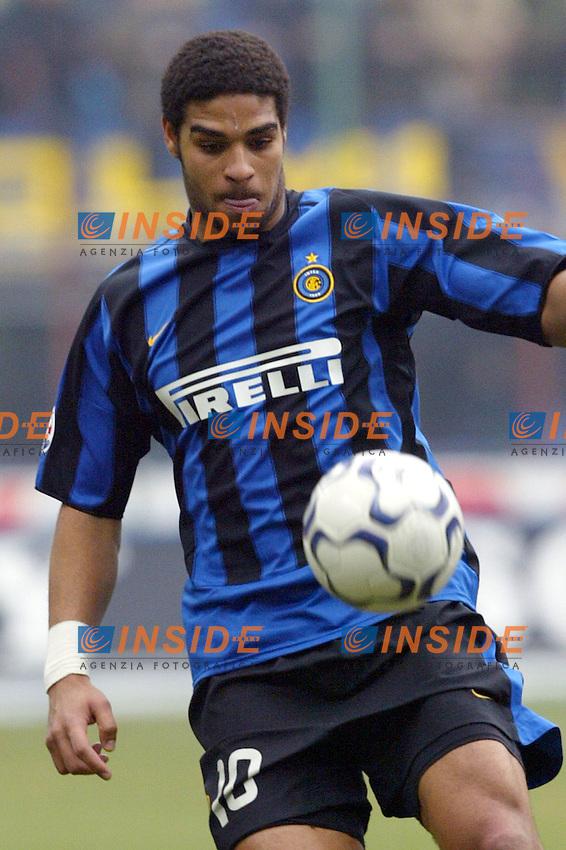 Milano 14/3/2004 Campionato Italiano Serie A - <br /> 25a Giornata - Matchday 25 <br /> Inter Chievo 0-0 <br /> Adriano (Inter)<br /> Photo Andrea Staccioli Insidefoto