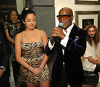 LOS ANGELES, CA - FEBRUARY 8: Delacey and L.A. Reid attend L.A. Reid & HITCO Entertainment's celebration of the 2019 Grammy Awards at Reids home on FEBRUARY 8, 2019 in Los Angeles, California. (Photo by Willy Sanjuan/PictureGroup)