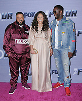 08 February 2018 - West Hollywood, California - DJ Khaled, Evvie McKinney, Sean &quot;Diddy&quot; Combs. The Four: Battle For Stardom season finale viewing party held at Delilah.  <br /> CAP/ADM/BT<br /> &copy;BT/ADM/Capital Pictures