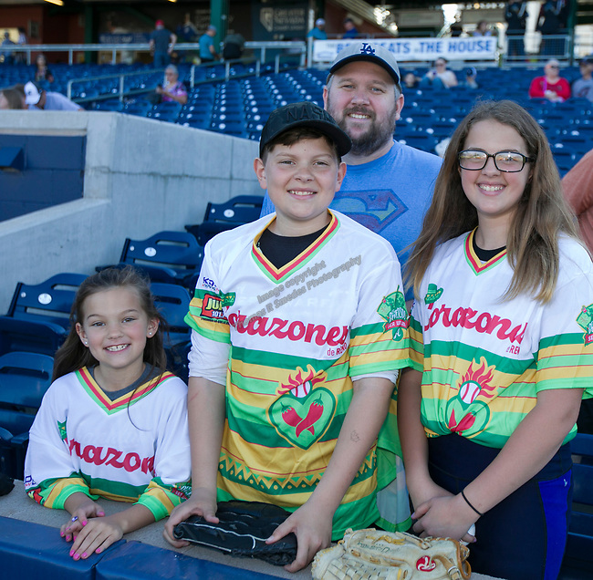 The Reno Aces Copa de la DiversiÛn Jersey night game played on Saturday night, May 11, 2019 in Reno, Nevada.
