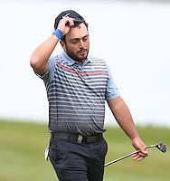 Francesco Molinari at the end of his round - BMW Golf at Wentworth - Day 2 - 22/05/15 - MANDATORY CREDIT: Rob Newell/GPA/REX -