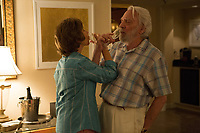 The Leisure Seeker (2017) <br /> Donald Sutherland &amp; Helen Mirren<br /> *Filmstill - Editorial Use Only*<br /> CAP/KFS<br /> Image supplied by Capital Pictures