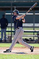 February 26, 2010:  First Baseman Kevin Wager of the Villanova Wildcats during the Big East/Big 10 Challenge at Raymond Naimoli Complex in St. Petersburg, FL.  Photo By Mike Janes/Four Seam Images