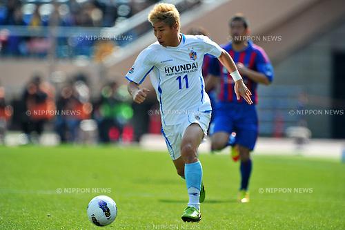 Lee Keunho (Ulsan),.MARCH 20, 2012 - Football /Soccer : AFC Champions League 2012 Group F ,between FC Tokyo 2-2 Ulsan Hyndai FC at National Stadium, Tokyo, Japan. (Photo by Jun Tsukida/AFLO SPORT) [0003].