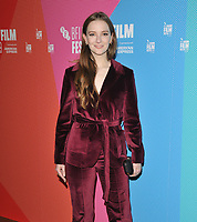 "LONDON, ENGLAND - OCTOBER 08: Morfydd Clark at the BFI London Film Festival ""Eternal Beauty"" Dare screening, BFI Southbank, Belvedere Road on Tuesday 08 October 2019 in London, England, UK. <br /> CAP/CAN<br /> ©CAN/Capital Pictures"