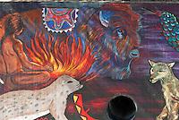 Great Wall Mural, Tujunga Wash,  San Fernando Valley, Los Angeles