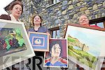 ARTY BUNCH: Veronica Murray, Jacinta Usher and Karen Crow who are holding an exhibition of their art in Ardfert later this month.