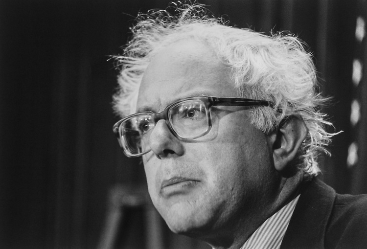 Rep. Bernie Sanders, IND-Vt., in October, 1993. (Photo by Maureen Keating/ CQ Roll Call via Getty Images)